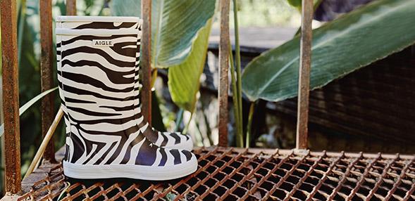 长靴 print