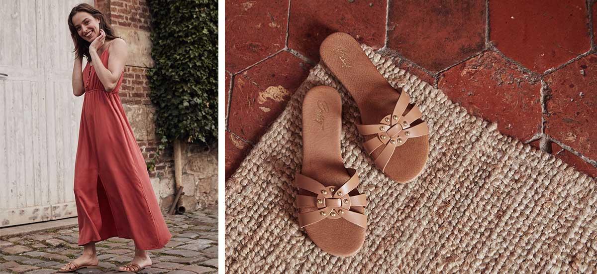 休闲凉拖/沙滩鞋