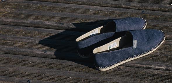 草底帆布鞋